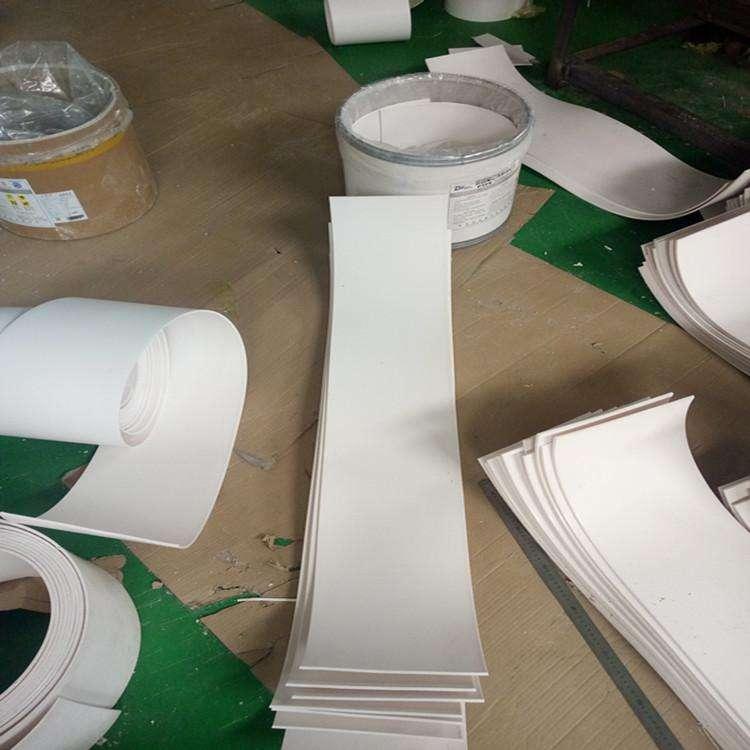 耐腐蚀5mm四氟楼梯板厂家 楼梯抗震用5个厚聚四氟乙烯板 5厚楼梯四氟板价格示例图1