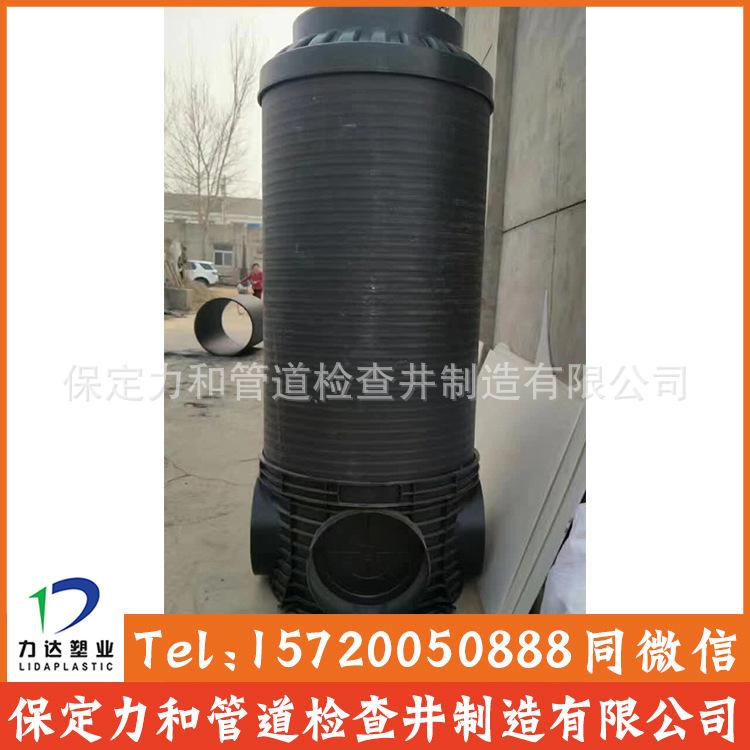 中空壁缠绕管 井壁管 HDPE双平壁缠绕管示例图8