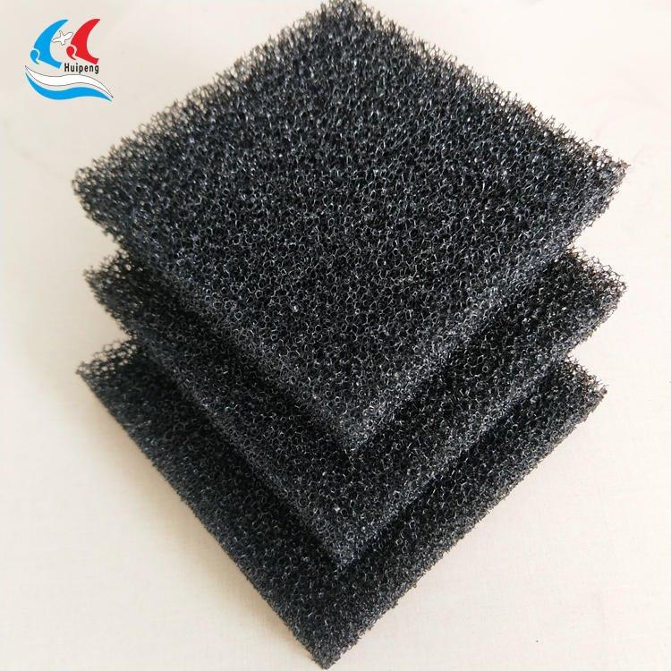 汇朋厂家  过滤海绵  阻燃耐高温海绵  彩色开孔 颜色形状可定制