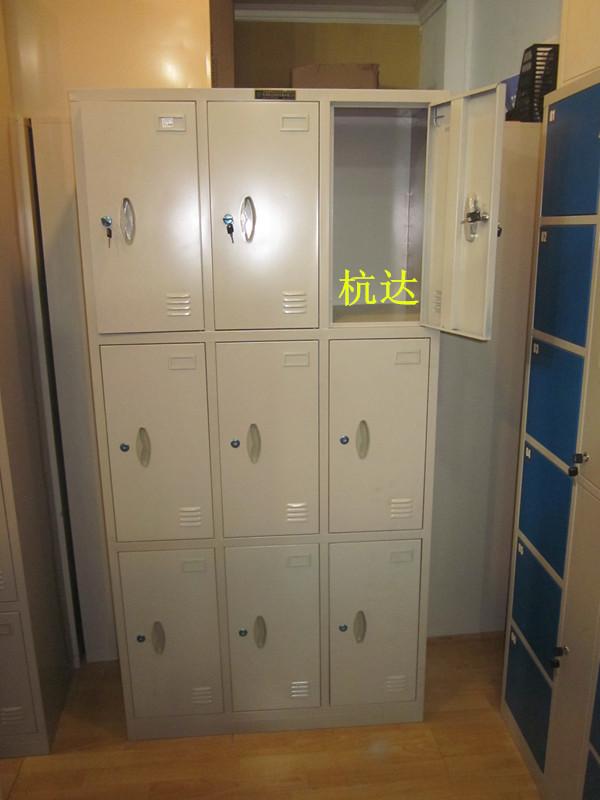 厂家定做 9门组装更衣柜 高质量衣橱更衣柜