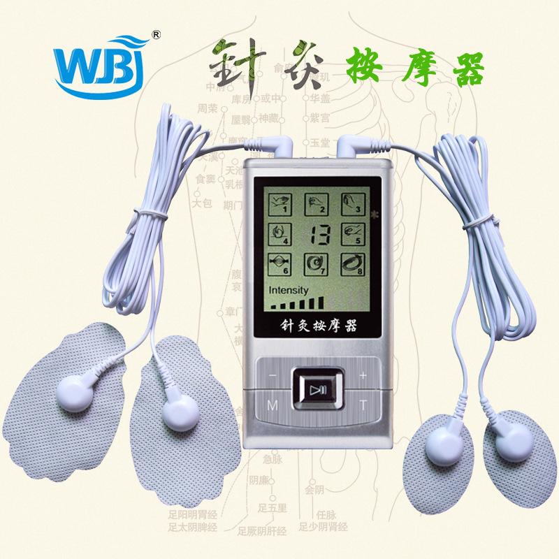 供應健康電子手持線控按摩器材WBJ-169 穴位智能精準按摩器批發