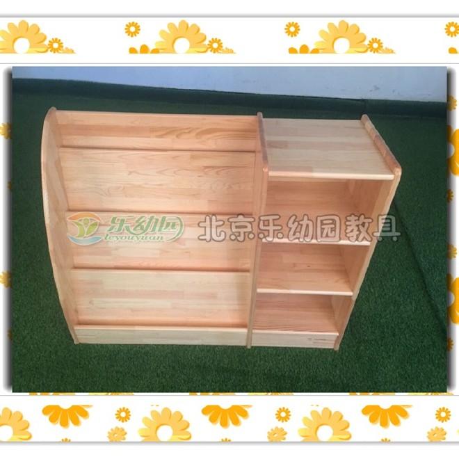 厂家直销幼儿园书柜 幼儿园实木书柜书柜 幼儿园组合书柜实木书架