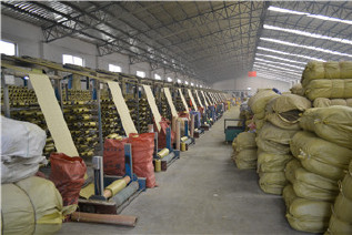 PP编织袋筒料生产厂家直销黄色半成品布卷 开边编织布可加工定做示例图14