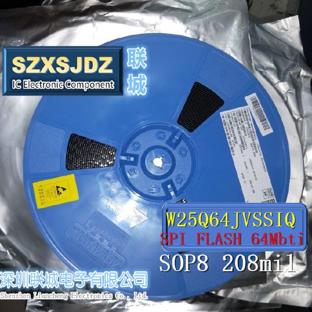 W25Q64JVSSIQ 原装WINBOND Spi Flash 4Mbit W25Q64 W25Q64JV】价格_批发_