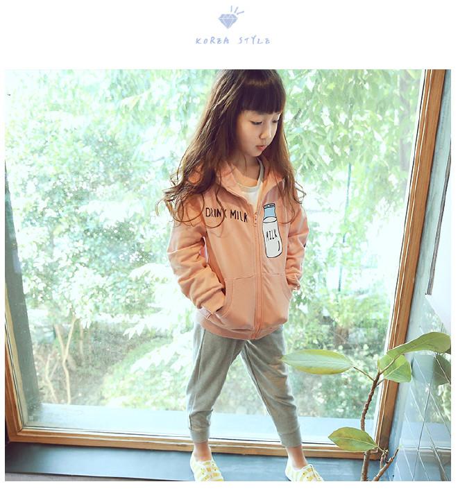 新品童装拉链2017春季韩版女童鱼儿v新品时尚pet滤膜图片