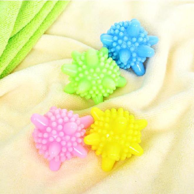 高性能去污清洁球洗护球 塑料实心洗衣球 防缠绕护洗球洗
