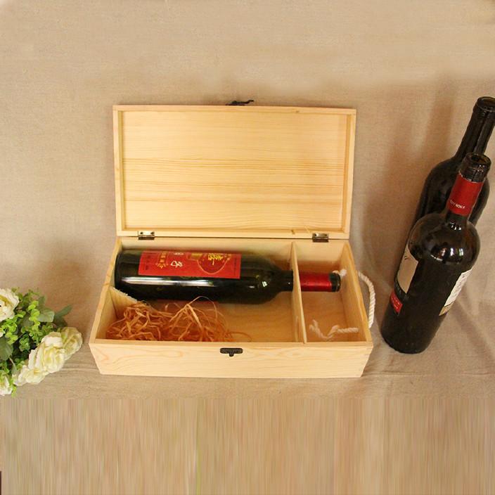 手提式双支红酒包装盒高档葡萄酒酒盒 礼品盒批发定做LOGO