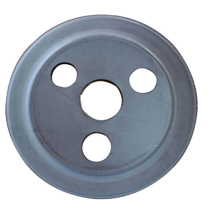 食品机械专用单槽劈开式V型皮带轮尺寸精准外观精致示例图5