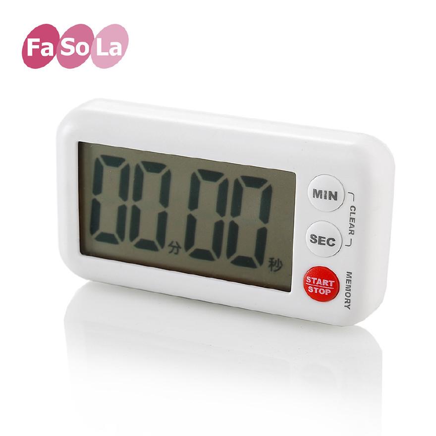 FaSoLa 便攜廚房定時器提醒器 電子倒計時器 定時器 耐用計時器圖片