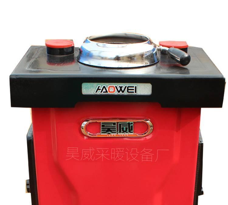 热卖家用通炕采暖炉 燃煤采暖炉 气化反烧炉柴火炉 展会锅炉图片