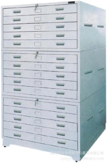 生产厂家供应 底图柜 底图密集架 文件柜 铁皮柜 钢制书架