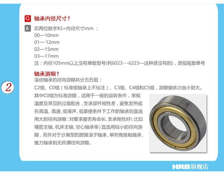 供应哈尔滨轴承1206双列调心球轴承精密纺织机械设备专用轴承示例图20