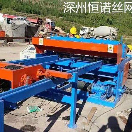 焊网机厂家直销    铁路用隧道焊网机    隧道钢筋网焊网机