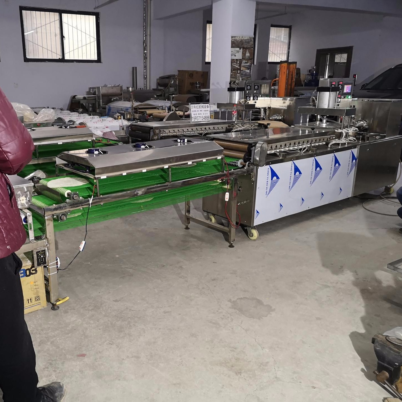 圆形烙馍机 多功能烙馍机加工 TL450型万年红厂家直销烙馍机设备