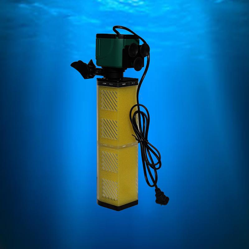 水族用品 过滤器 鱼缸水族箱过滤器增氧机批发水循环三合一图片