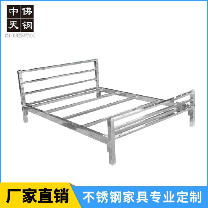 公寓出租屋床 組裝床1.2 1.5 1.8米 不銹鋼單人床 雙人床202/304