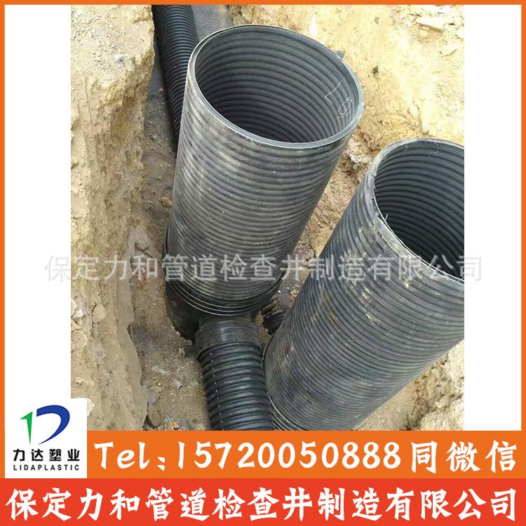 力和管道 专业生产塑料检查井 污水流槽井 源头厂家示例图12