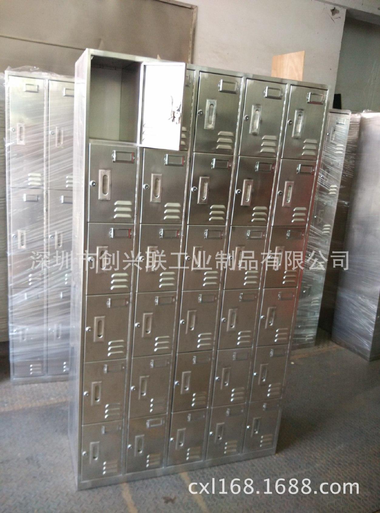 供应各种储物柜 鞋柜 加工定制各种规格不锈钢柜子