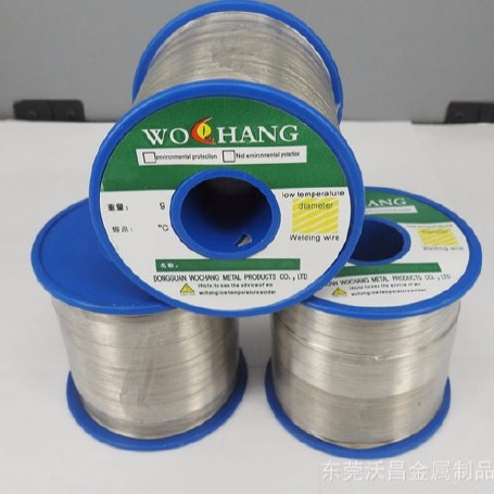 低熔点锡合金丝焊接材料 95℃低熔点合金丝 锡铋合金丝控温丝