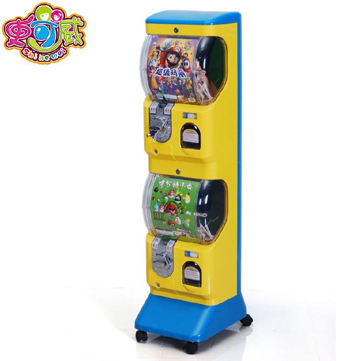 新款一元投币扭蛋机礼品机儿童乐园商场自动售卖机电玩设备厂家价