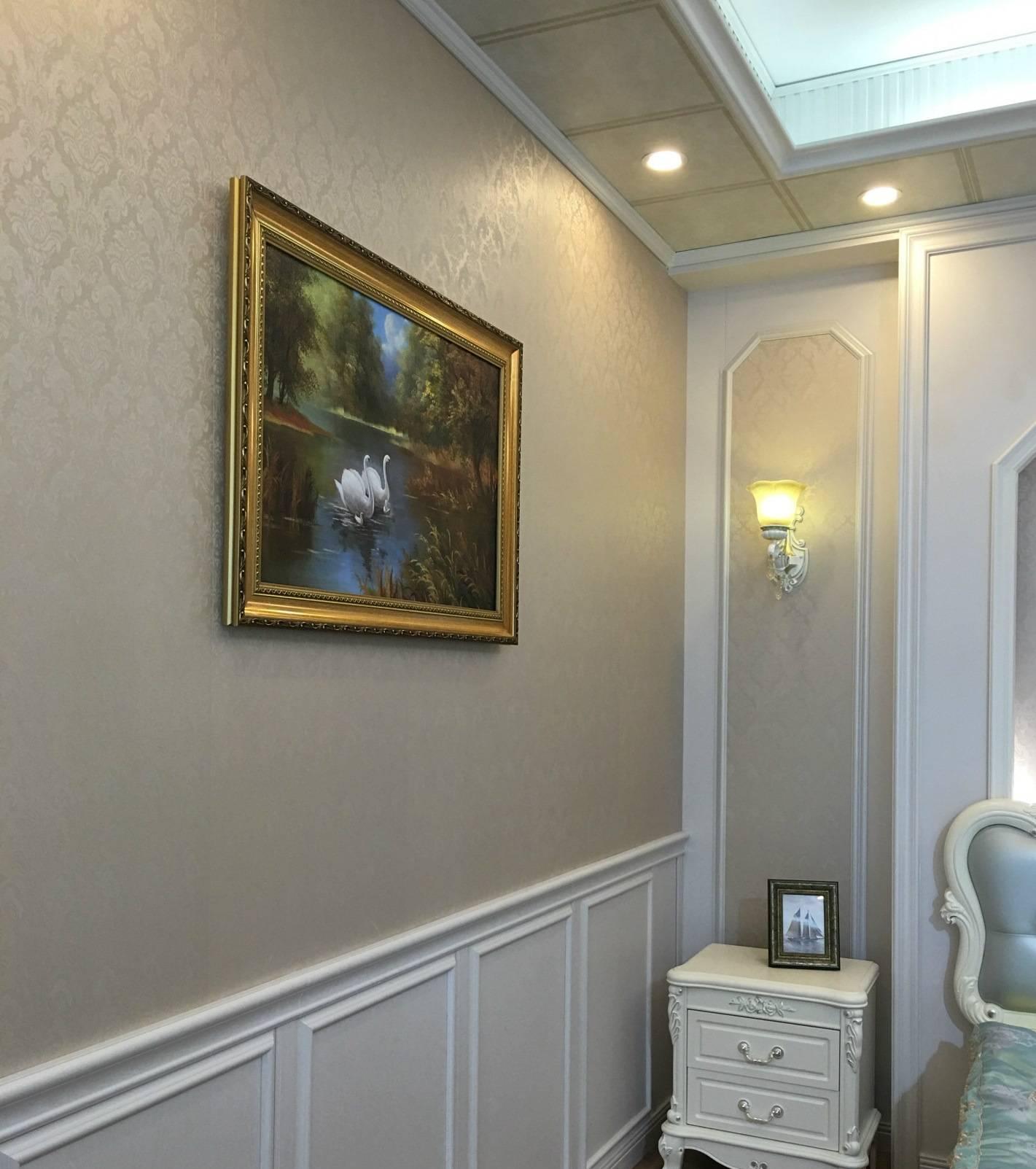 【集成墙板 竹木纤维室内客厅吊顶快装 墙裙防