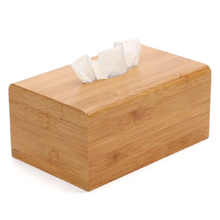 厂家供应木质纸巾盒 车用创意纸巾盒 多用抽纸盒  定制实木纸巾盒