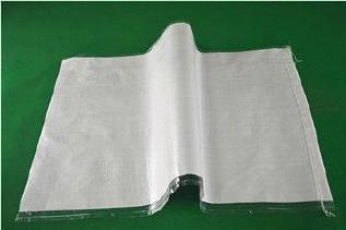 白色中厚覆膜防水��袋40*65�子粉包�b袋再生料防水打包袋批�l示例�D10