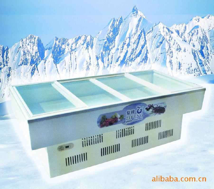 岛柜 保鲜点菜柜厨房 冰箱冷柜 展示冰柜 卧式冰柜