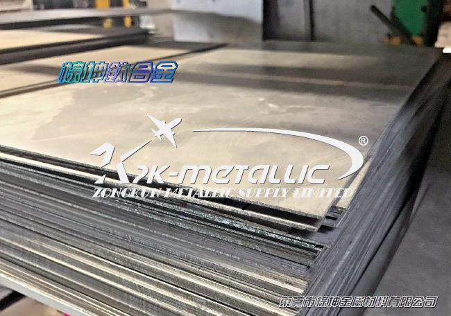Ti-6Al-4V钛合金板材 进口grade5钛合金示例图5