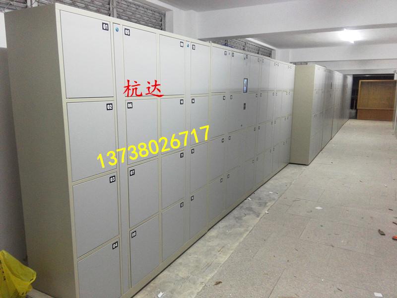 厂家供应智能12门-48门指纹存包柜遥控器开门,自己设置一人一门示例图9