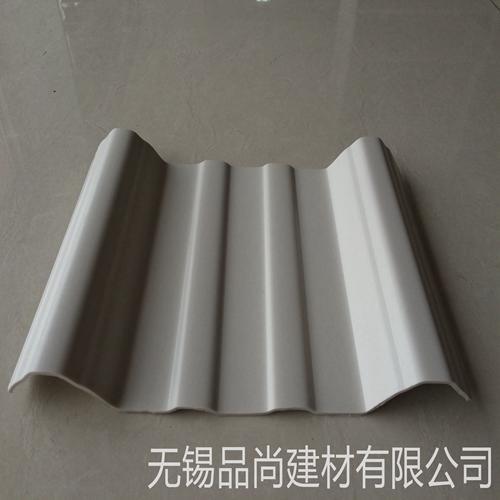 防水塑钢瓦 养殖场厂房PVC塑钢瓦 耐候塑料瓦片