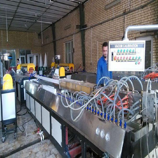 供应塑料PVC型材挤出生产线 塑料异型材挤出机
