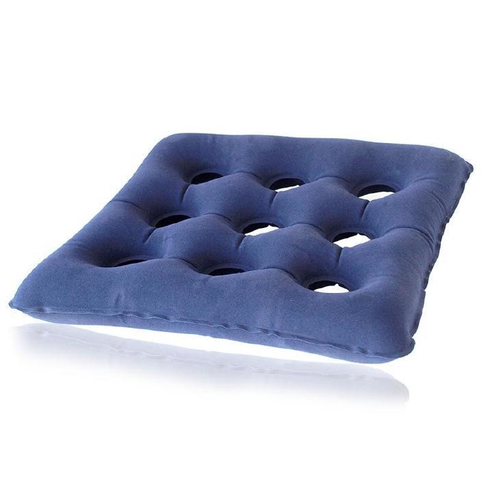 轮椅九?#26894;?#21147;座垫 老人坐疮护理方型充气床垫 防褥疮坐垫送打气筒