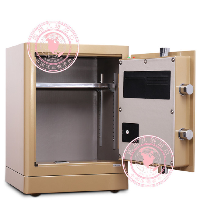 批发得力4066指纹保险柜大型3C电子密码触控保管箱家用保险箱办公