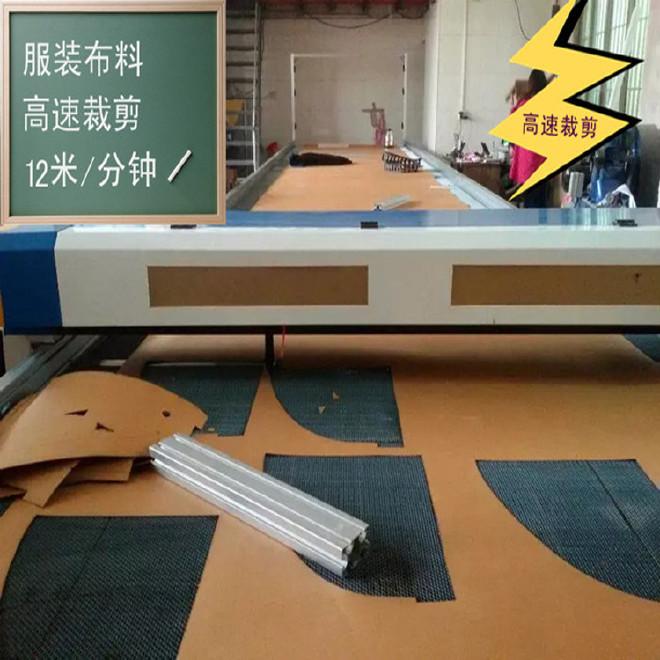 服装布料激光裁剪机 专业的全自动激光切割裁剪机 服装样板剪裁机图片