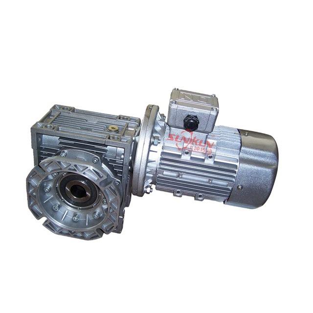 厂家批发 蜗杆减速机 NMRV25-150配输出法兰配电机0.12-15KW速比5 10 15 20 25 30 40