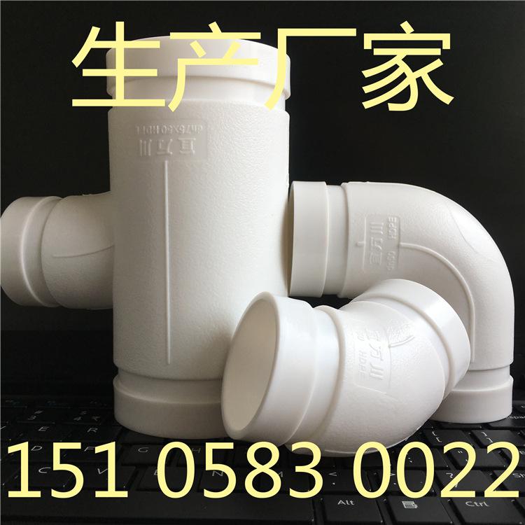 重庆HDPE沟槽式超静音排水管,沟槽式排水管,宜万川厂家示例图6