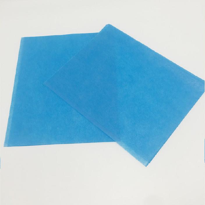 一次性医用手术单 医用一次性灭菌妇科检查垫 蓝色防水妇检垫图片