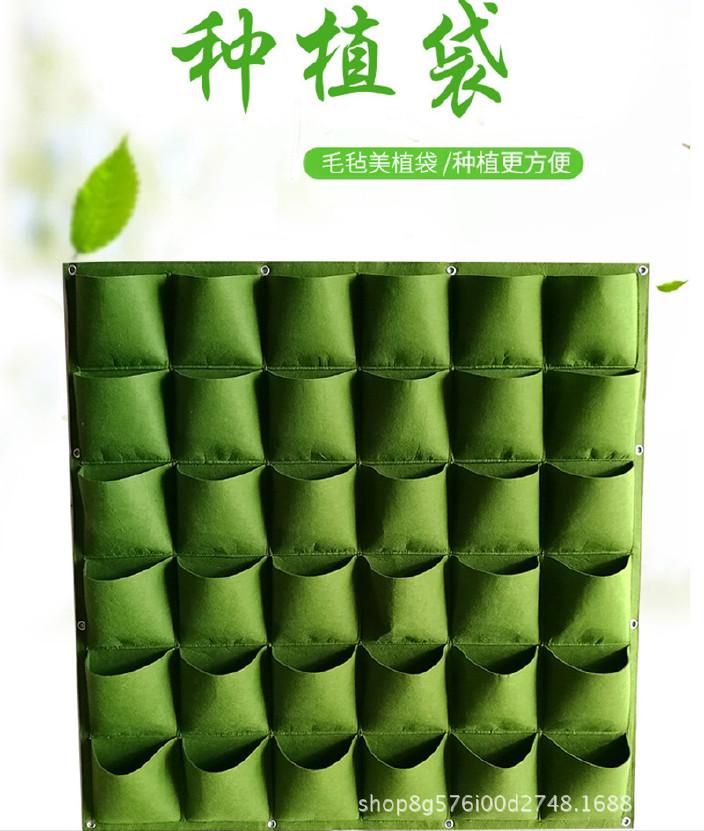 优质无纺布种植袋加厚植树袋种植袋育苗袋厂家直销示例图3