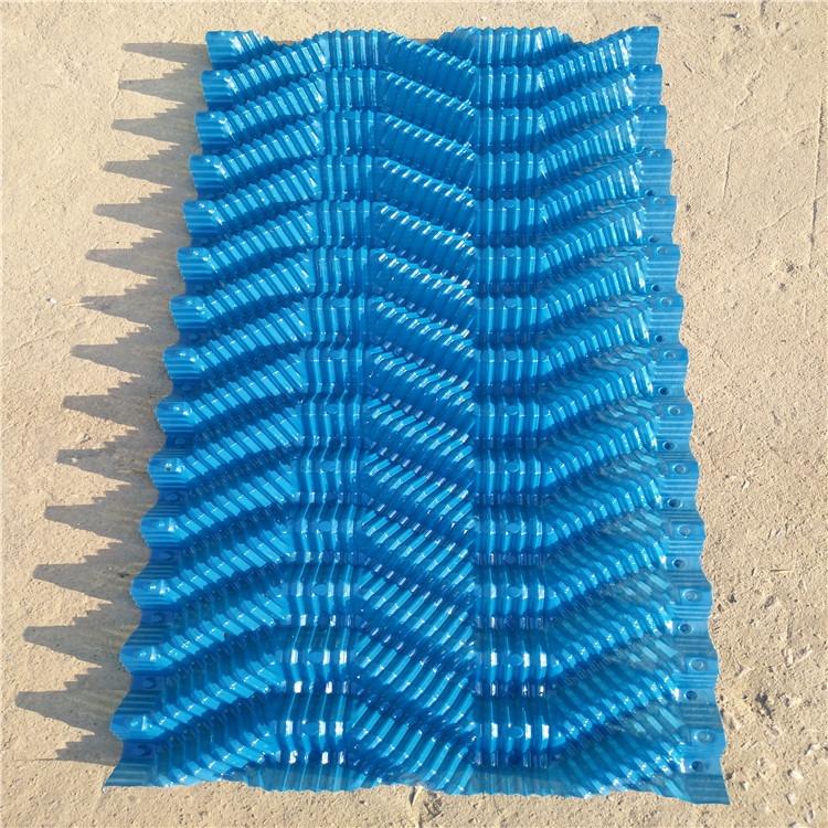 厂家直销蓝透明S波冷却塔填料250x1000mm 500x1000mm 冷却塔填料逆流s波填料 电厂水泥厂专用淋水填料