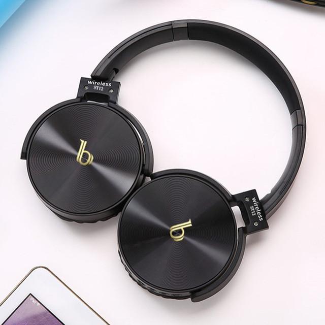 DODGE 蓝牙耳机b头戴式 重低音大耳罩 插卡收音机无线耳麦 多功能耳机 立体声有线无线两用 耳机厂家 免费加盟代理