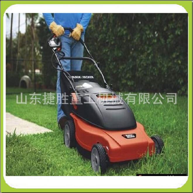 手推式草坪修剪車 四輪座駕式草坪車 汽油大動力剪草機 修剪機圖片
