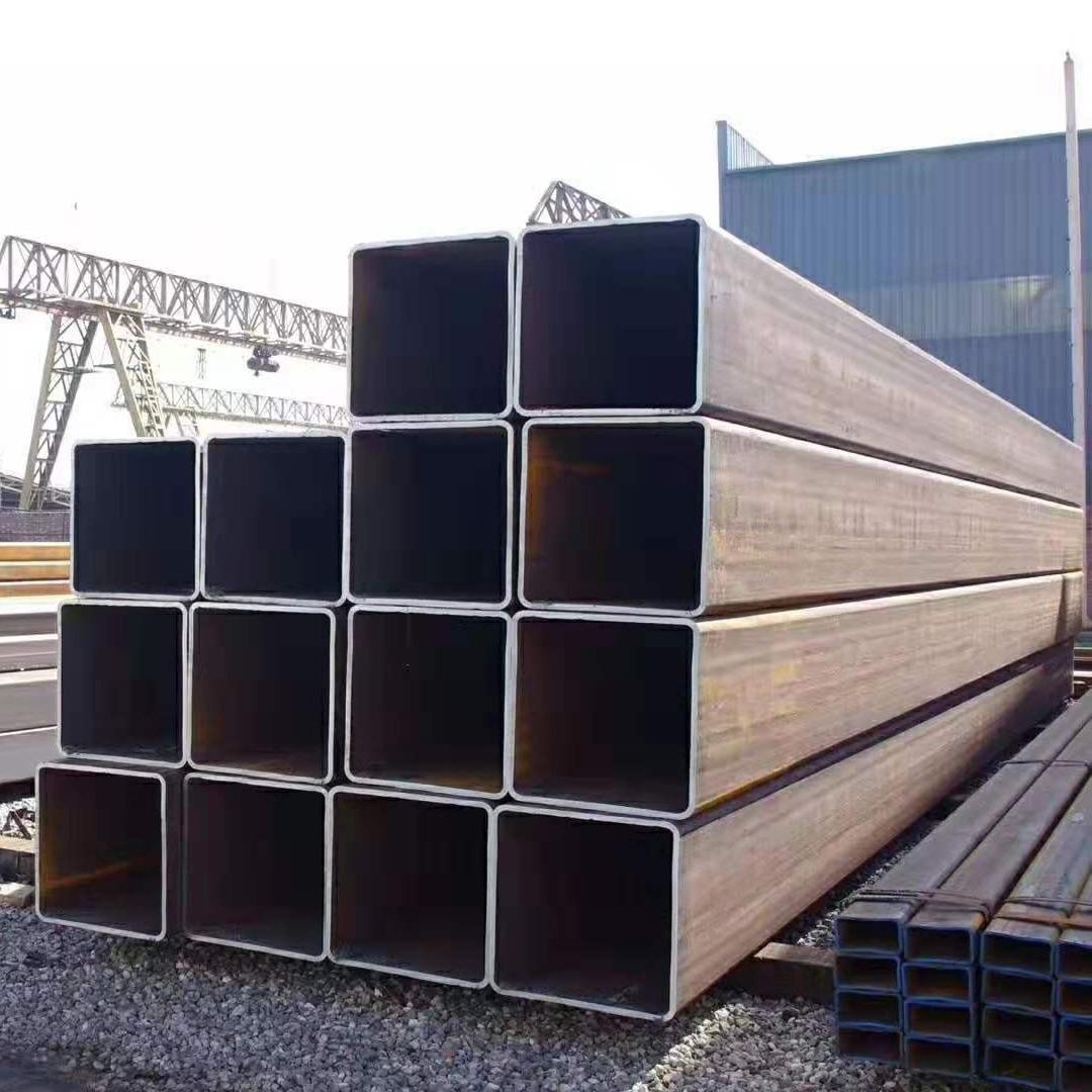 生產加工定做方管 黑方通 無縫方管 大小口徑方管 厚壁方管 熱鍍鋅方管 量大從優