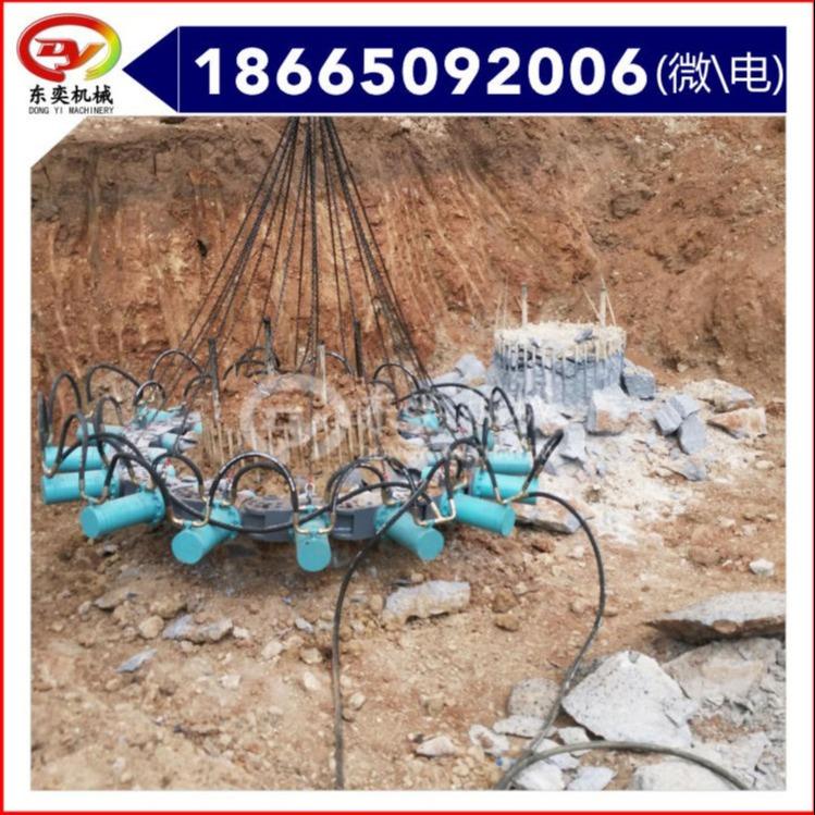 挖掘機配件液壓截樁器 灌注樁截樁機 東奕機械圖片