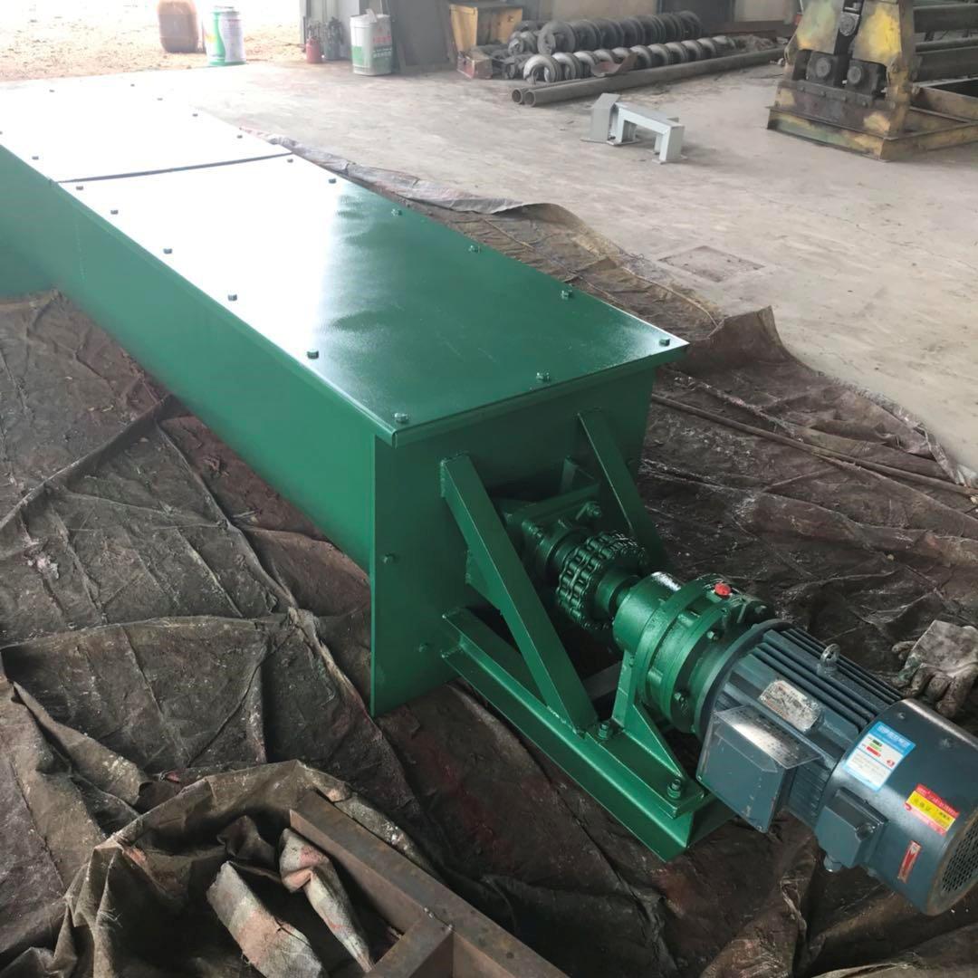 机械行业用螺旋输送机 钢厂专用U型绞龙 U型螺旋输送机