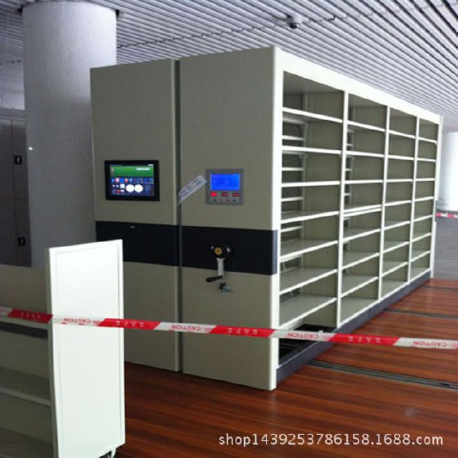 智能电动档案密集架生产厂家系统电脑管理资料柜就找江西瑞鑫专业