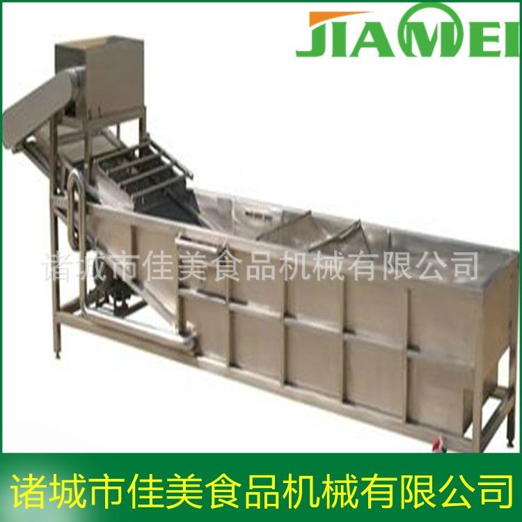 佳美机械供应 全自动洗虾机 小龙虾清洗蒸煮设备 小龙虾清洗机 质量好