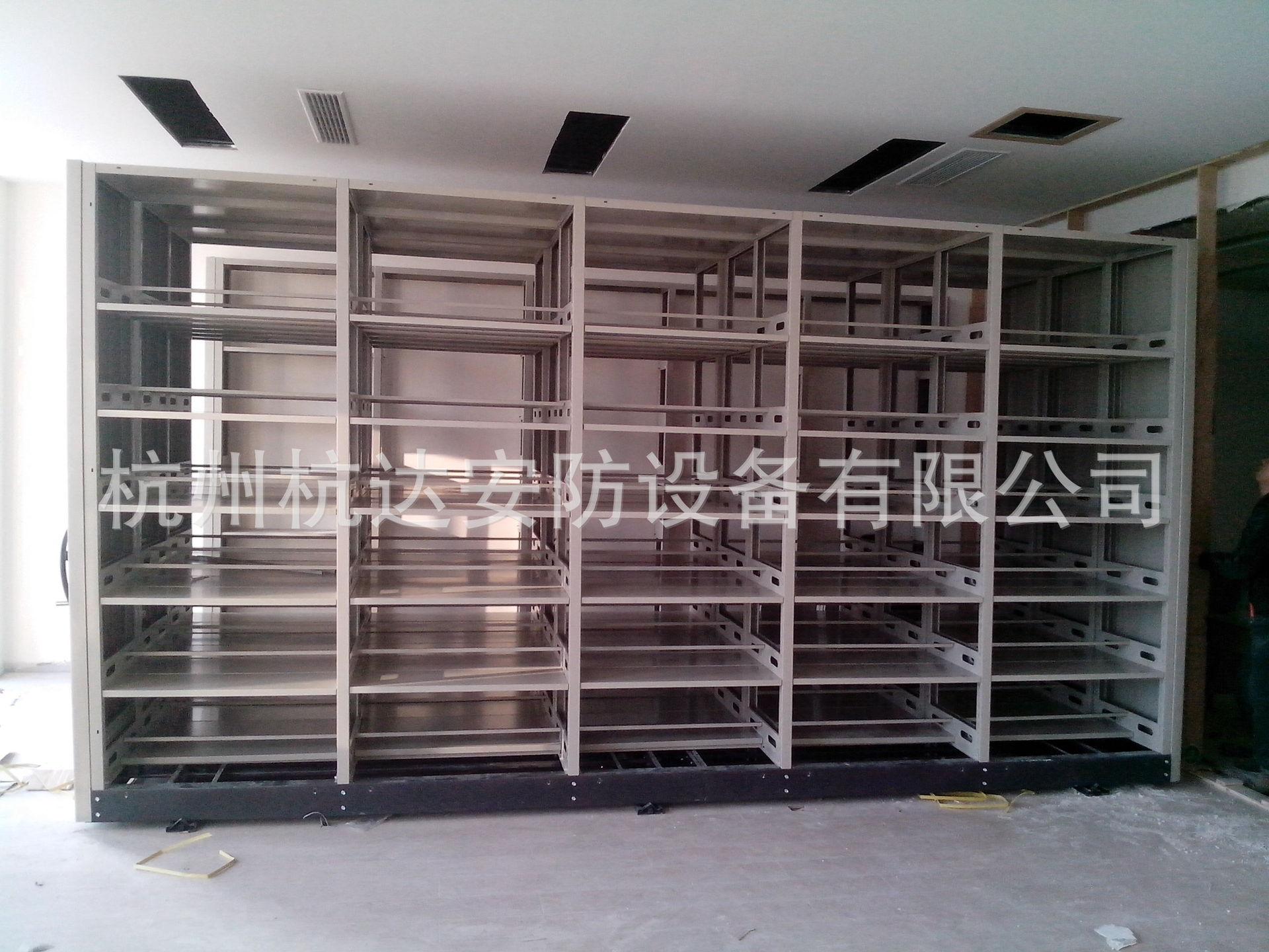 手动移动密集架钢质文件柜?#25918;?#25991;件柜钢质办公家具杭州密集柜厂家
