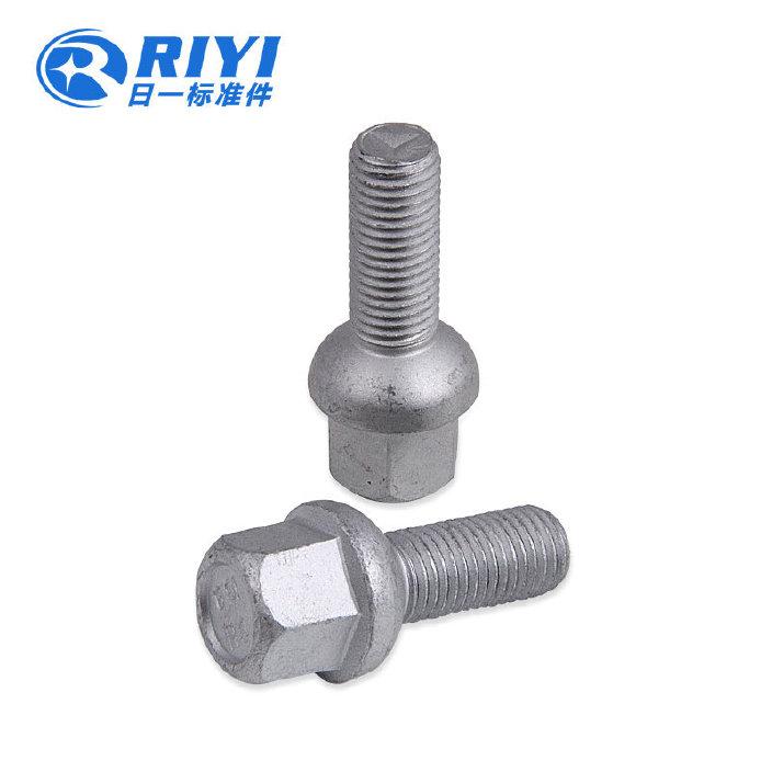 三轮车轮毂螺栓,M14反牙轮毂螺栓,高强度轮胎螺栓,订单加工