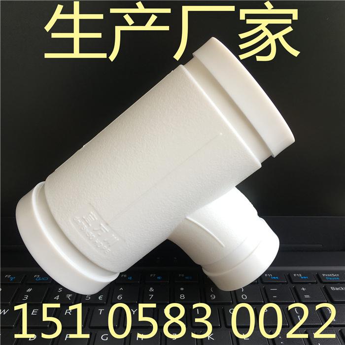 HDPE沟槽式超静音排水管,厂家直销,HDPE沟槽静音排水管,宜万川示例图2